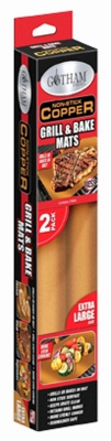 Gotham-Steel-Non-Stick-Copper-Grill-amp-Baking-Mats-2-PACK-As-Seen on TV