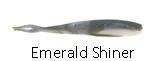 "Berkley Gulp Alive Minnow 3/"" Emerald Shiner Half Pint"