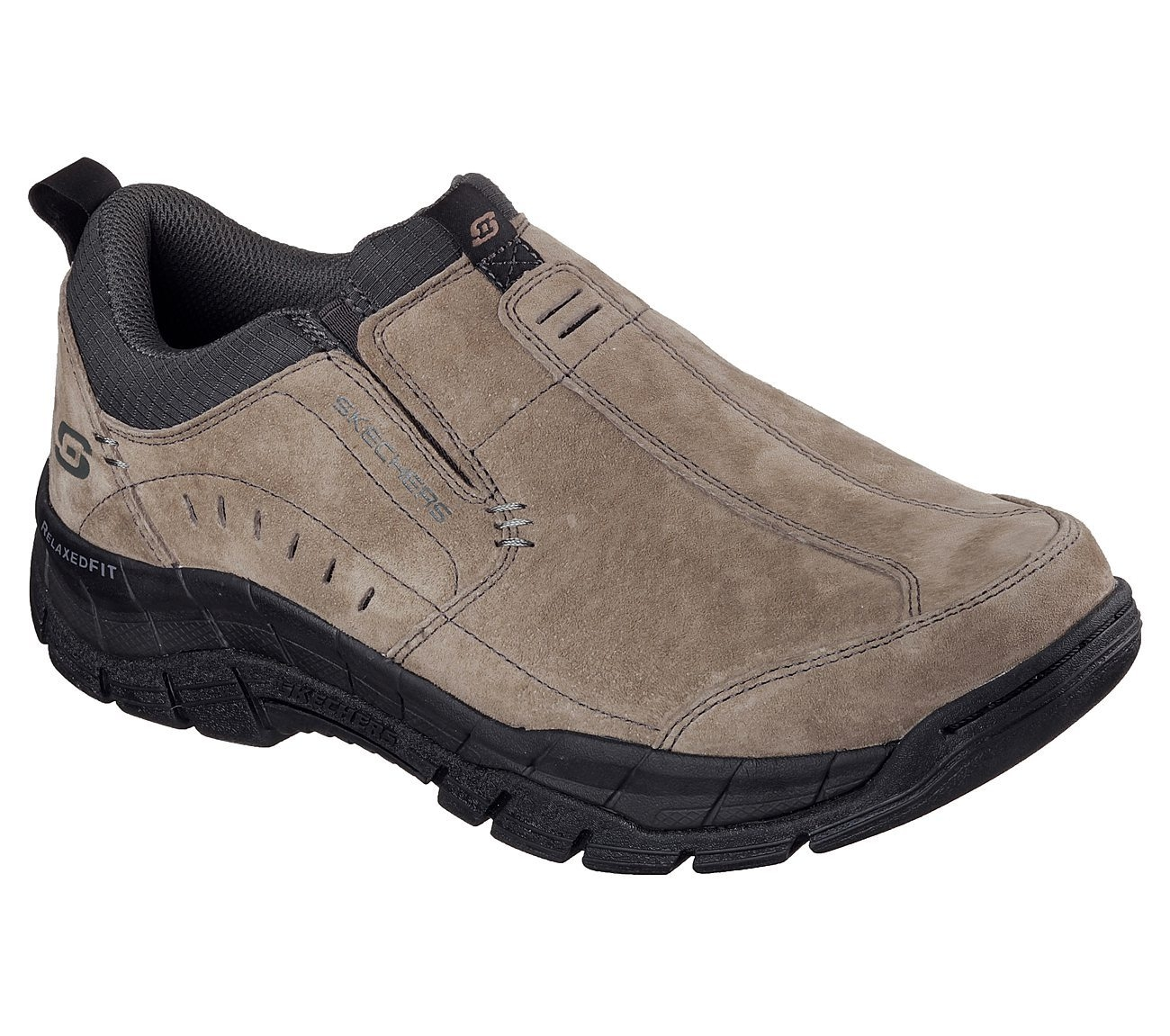 Skechers Relaxed Fit: Rig Mountain Top Men's Shoe, Brown